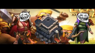 La aldea TROLL TH 9 Clash Of Clans // Español // Como hacerla.