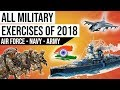 All Military Exercises of 2018 2018 के सभी सैन्य अभ्यास Current Affairs 2018