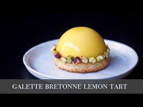 Lemon Tart with Galette Bretonne / 檸檬塔 & 布列塔尼酥餅