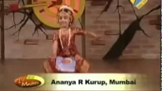 Bharatanatyam  - Ananya Kurup ( 4 year old )