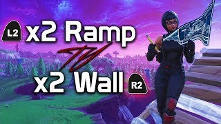 Fortnite: Console Double Ramp/Wall Guide