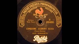 Lonesome Alimony Blues