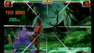 SF3 Akuma Raging Demon Exhibition by RX50cent