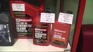 Цены на оригинальные моторные масла Ford (Motorcraft) USA(Цены на оригинальные моторные масла Ford (Motorcraft) USA. Купить прямо сейчас http://amtecol.ru/magazin/, 2013-08-06T19:00:46.000Z)