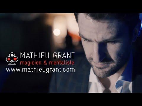 Mathieu Grant Magicien Mentaliste