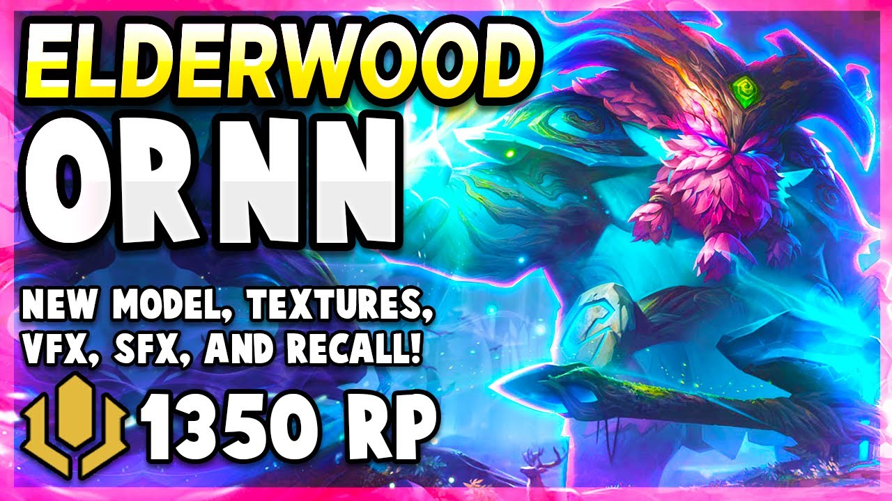 *NEW* ELDERWOOD ORNN IS THE SKIN YOU HAVE BEEN WAITING FOR - League of Legends PBE Gameplay