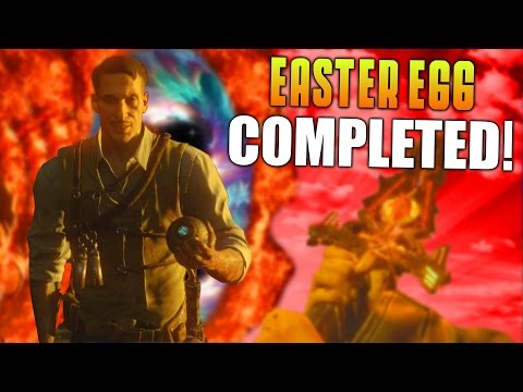 SHADOWS OF EVIL EASTER EGG COMPLETED! (Completing Every Easter Egg In BO3 Zombies #1) - MatMicMar