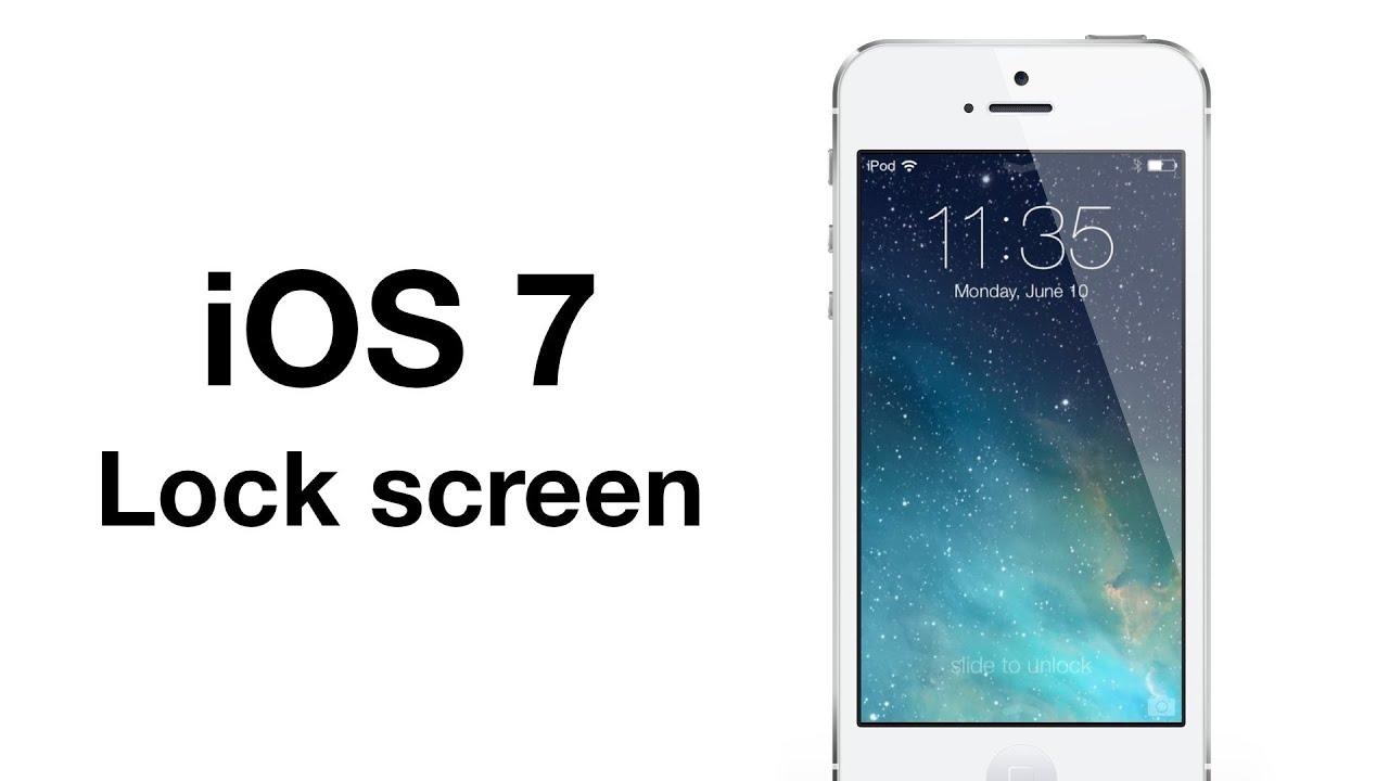 iphone lock screen on youtube download