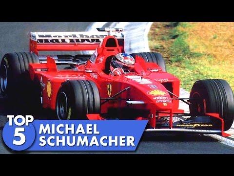 Top 5 Michael Schumacher Moments