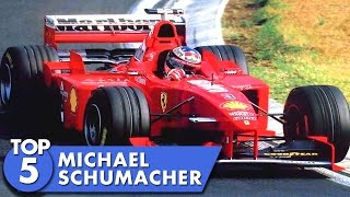 Top 5 Michael Schumacher Moments
