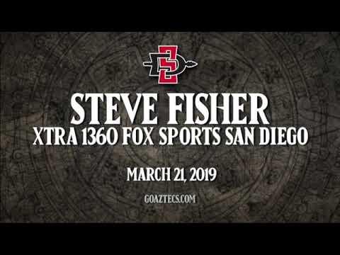 SDSU MEN'S HOOPS: STEVE FISHER - XTRA 1360 FOX SPORTS SAN DIEGO