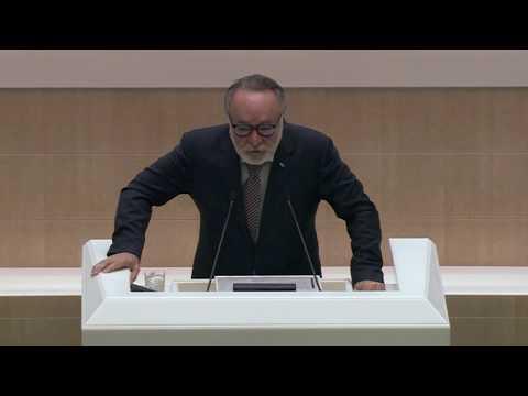 Выступление Александра Тотоонова на пленарном заседании Совета Федерации 27 сентября 2017 года