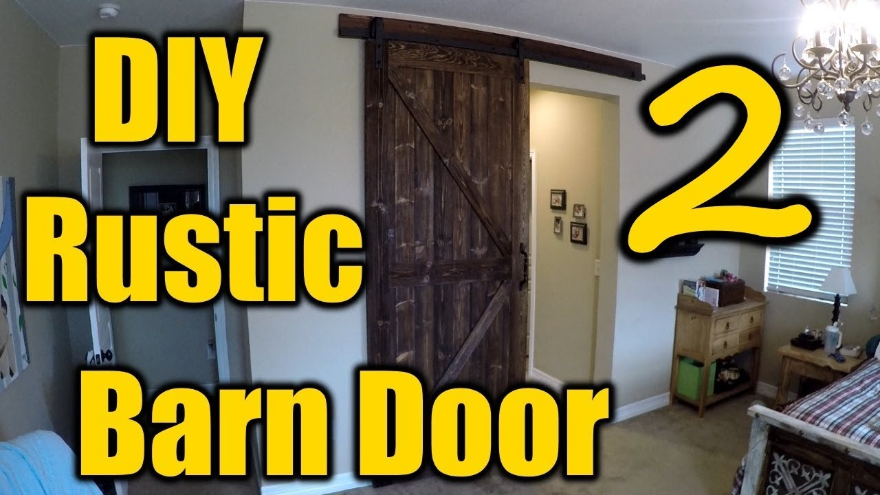 How To Build A Rustic Barn Door 2 The Handyman