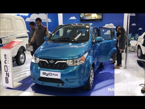 Smallest Electric Vehicle | Mahindra e2o Plus