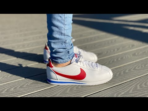 """Lamer La selva amazónica Antología  Nike Cortez Forest Gump Review """" ON FEET """" UNBOXING & How to style! ( WATCH  IN 4K ) - YouTube"""