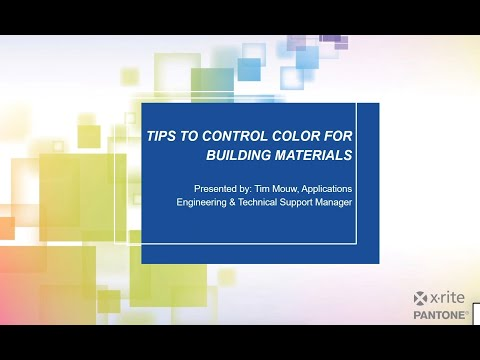 Tips To Control Color For Building Materials