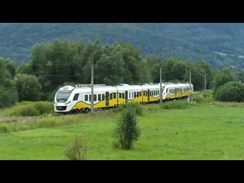 Koleje Dolnośląskie w drodze do Szklarskiej Poręby