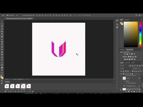 HOW TO CREATE A ANIMATED GIF IN PHOTOSHOP CC 2020