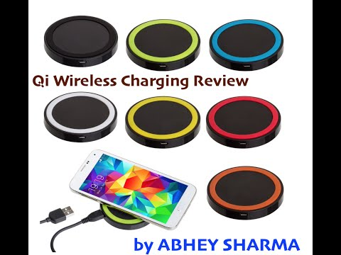 Qi Wireless Charging Receiver Pad and Receiver Review
