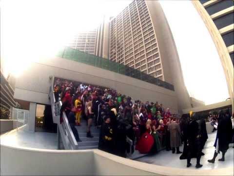 Drgon Con 2013   Gotham City Time Lapse