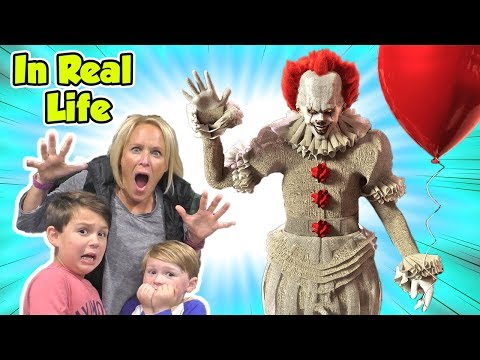 Pennywise IT Horror Escape Game In Real Life