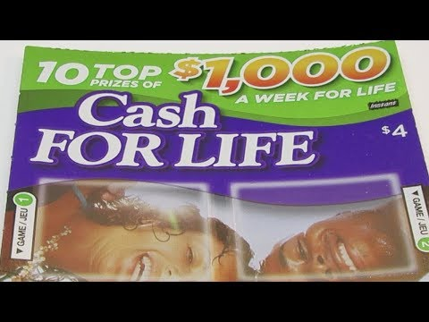 CASH for LIFE Instant Scratch Ticket Lottery OLG 2018