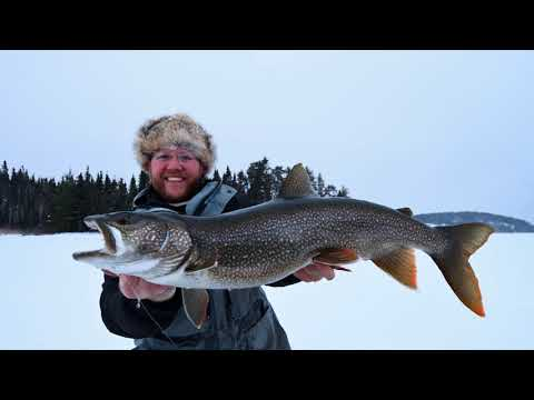 How to Use Your Second Hole to Catch More Lake Trout