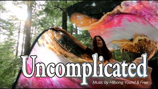 Worship Flagging // Uncomplicated by Hillsong  // Silk Flags Dance ft Claire CALLED TO FLAG
