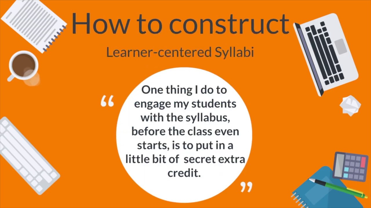 The Syllabus | Teaching & Learning Innovation