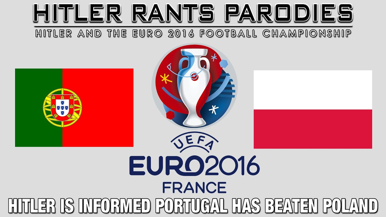 Hitler is informed Portugal has beaten Poland 3-5 in a penalty shootout
