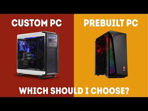 Prebuilt vs Custom PC - Which Should You Choose? [Simple Guide]