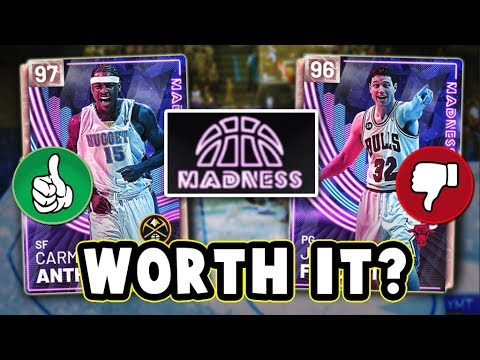 NBA 2K19 WHICH MADNESS CARDS ARE WORTH BUYING!! - NBA 2K19 MyTEAM