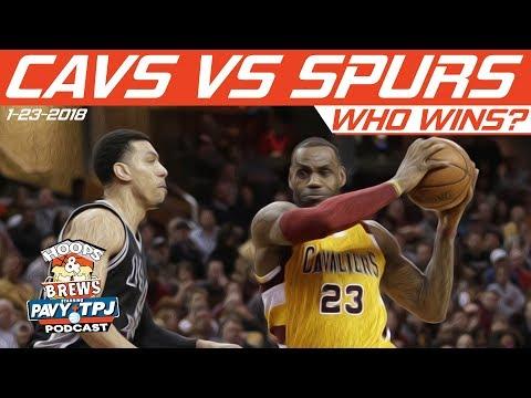 Who Wins ? Cleveland Cavaliers vs San Antonio Spurs | Hoops & Brews