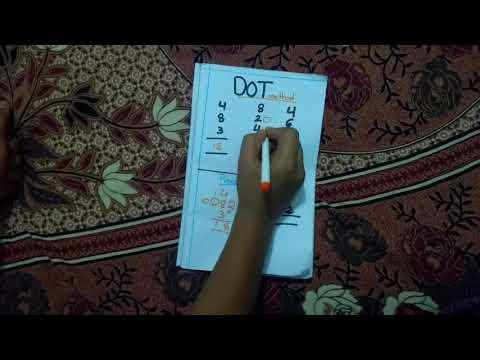 Easy method for  additions(DOT method) Telugu