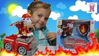 Игрушки ЩЕНЯЧИЙ ПАТРУЛЬ Маршал спасает друзей и тушит пожар Щенячий Патруль Машинки PAW Patrol Toys