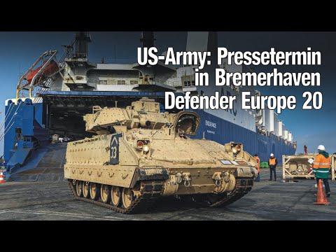 US-Army: Pressetermin in Bremerhaven