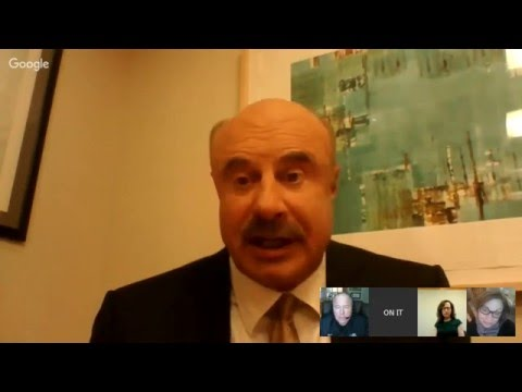 Live Interview with Dr  Phil McGraw