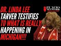 "MUST SEE: Dr. Linda Lee Tarver Absolutely FLAMES the ""Hot Mess"" Voter Fraud in Michigan at Lansing Hearing (VIDEO)"