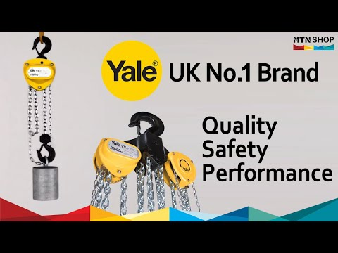 Yale VSIII Hand Chain Hoist 0.25t-50t [UK No.1]