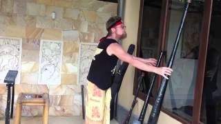 Didgeridoo - How to play Yidaki Super Slider by Dr Didge Dolphin