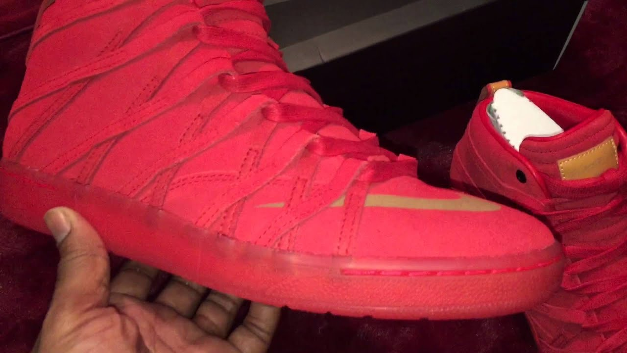 16d1c8b30490 Nike KD VII NSW Lifestyle QS Challenge Red - The DGR (DarnGood Report)