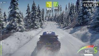 WRC 7 FIA World Rally Championship - Snow Gameplay (PC HD) [1080p60FPS]