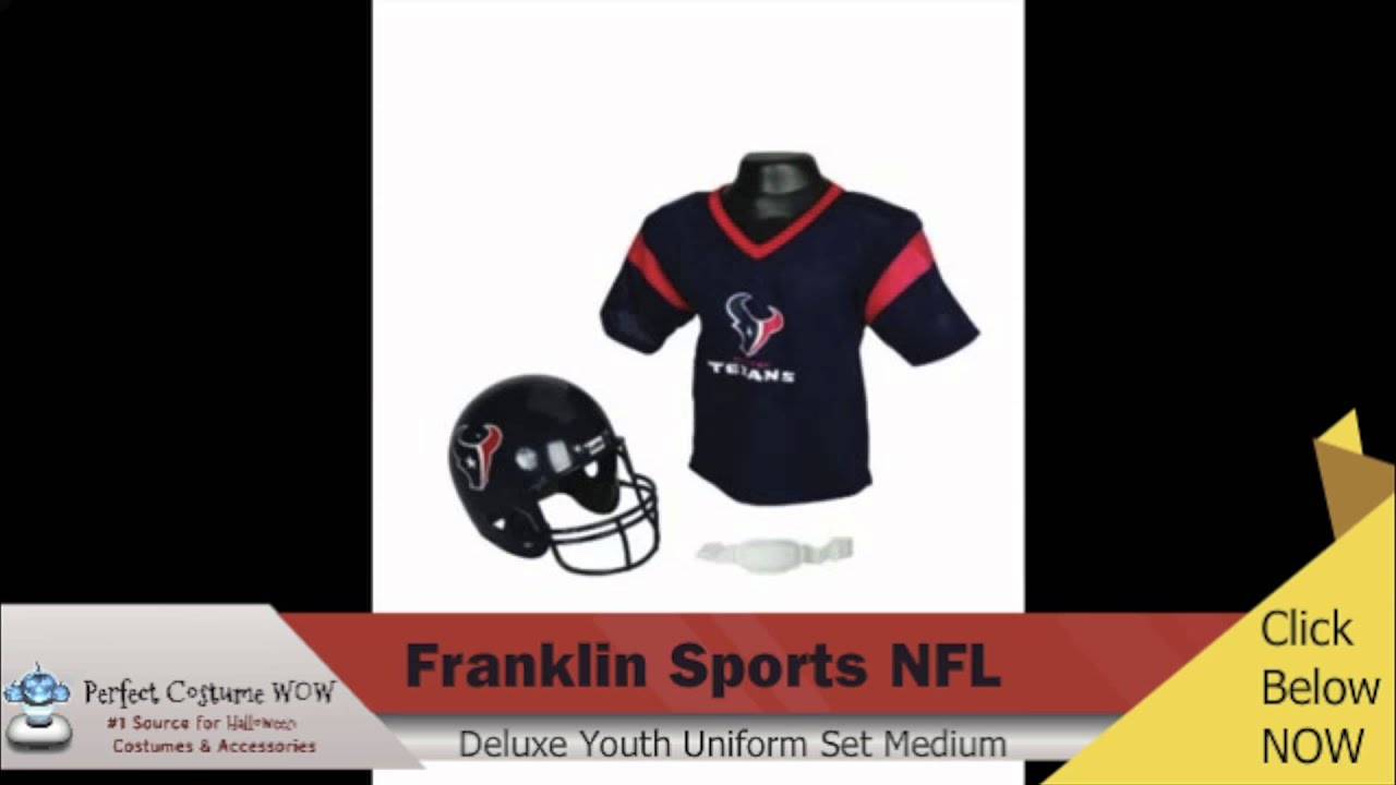 NFL Deluxe Youth Uniform Set Perfect Costume WOW - YouTube b69ae06cb