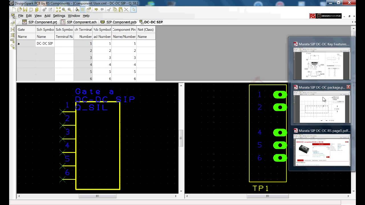 Designspark Pcb Tutorial Creation With Symbol And Footprint Wizard Youtube