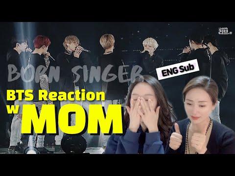 [Sub] 방탄소년단(BTS) 'Born Singer' @교차편집(Live Stage Mix) | Korean Mom React to BTS | 엄마리액션