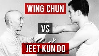 Gambar cover Wing Chun VS Jeet Kune Do
