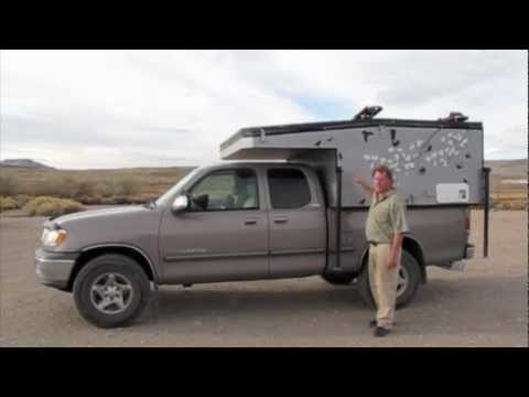 Home Built Pop Up Camper Toyota Tundra Youtube
