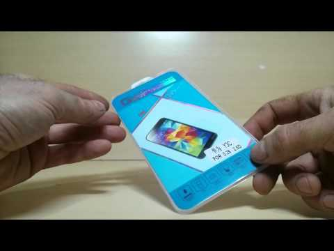 2 посылки с ALIEXPRESS  Закалённое стекло для Huawei Y3 и серьги.