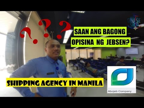 SHIPPING AGENCY IN MANILA (JEBSEN / ABOJEB) Buhay Sa Cruise Ship