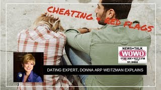 Cheating & Red Flags in Relationships | Donna Arp Weitzman